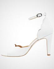 mint&berry Sandaler med høye hæler bianco