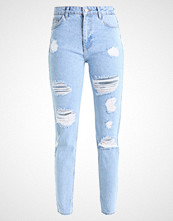 Even&Odd Straight leg jeans light blue denim