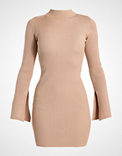 Missguided Petite Jerseykjole camel