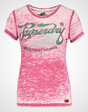 Superdry SPEED SAINTS Tshirts med print rich berry