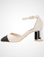 Lost Ink FRASER MID TOE CAP COURT Klassiske pumps ivory
