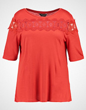 Dorothy Perkins Curve Tshirts med print coral