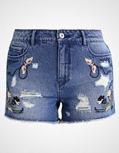 Only ONLPACY  Denim shorts dark blue denim