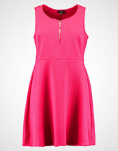 New Look Curves SKATER Jerseykjole bright pink