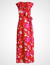 Banana Republic REBECCA FLORAL Fotsid kjole red