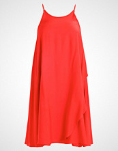 Glamorous Curve Sommerkjole red