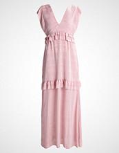 Lost Ink Fotsid kjole light pink