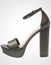 ALDO NESIDA Sandaler med høye hæler khaki