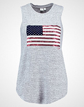 GAP FLAG  Topper light grey marle