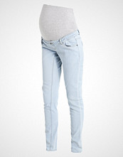 Mamalicious MLHARMONY Slim fit jeans light blue denim