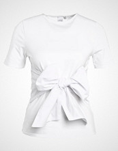 Lost Ink BOW FRONT Tshirts med print white