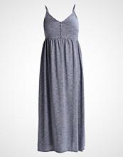 Lost Ink Plus Fotsid kjole blue