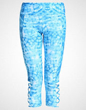 Onzie Tights tie dye blue