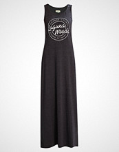 TWINTIP Fotsid kjole dark grey melange