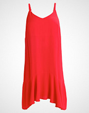 New Look Curves PEPLUM Fotsid kjole red