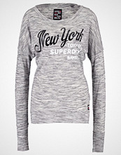 Superdry MAIDEN Topper langermet state charcoal