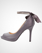 Nina Shoes KAREN Høye hæler med åpen front steel