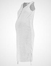 Mamalicious MLANILLIA Jerseykjole light grey melange