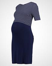 New Look Maternity NURSING STRIPE  Jerseykjole blue