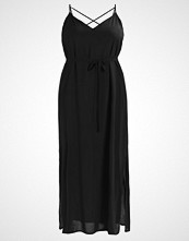 New Look Curves CROSS BACK  Fotsid kjole black