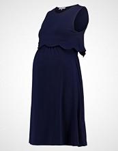 Anna Field MAMA Jerseykjole dark blue