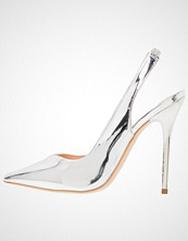 Office HIGHLIFE  Klassiske pumps silver mirror