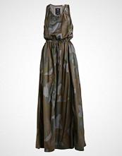 G-Star GStar ARMY RADAR MAXI DRESS S/LESS MBC AOP  Fotsid kjole sage/grey