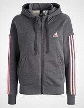 Adidas Performance Treningsjakke Dark grey heather/tactile rose