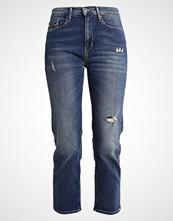 Calvin Klein HIGH RISE STRAIGHT  Straight leg jeans shield blue
