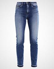 Calvin Klein HIGH RISE STRAIGHT ANKLE Straight leg jeans waterfall