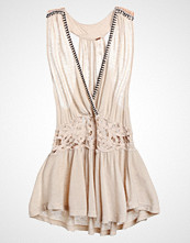 Free People MEGAN PEPLUM Topper cream