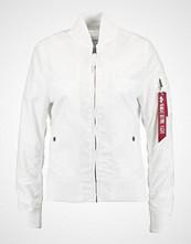 Alpha Industries Bombejakke white