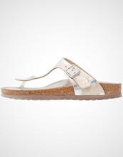 Birkenstock GIZEH HEX Flip Flops metallic silver