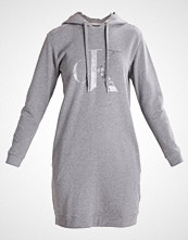 Calvin Klein DARLA TRUE ICON HOOD Sommerkjole mid grey heather