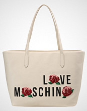 Love Moschino ROSES Håndveske avorio