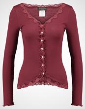 Rosemunde Cardigan maroon