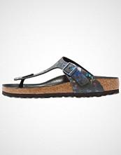 Birkenstock GIZEH HEX Flip Flops spotted metallic/black