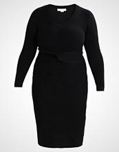 Lost Ink Plus Strikket kjole black