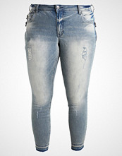 Zizzi SANNA Jeans Skinny Fit light blue denim