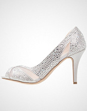Paradox London Pink CATRINA Høye hæler med åpen front silver