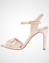 Buffalo Sandaler med høye hæler glitter metallic rose