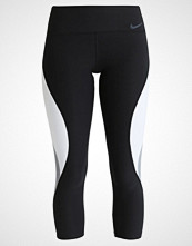Nike Performance POWER LEGEND CROP  Tights black/pure platinum/cool grey