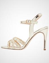 Buffalo Sandaler metallic glitter gold
