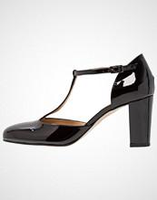 PERLATO Klassiske pumps noir