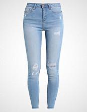 New Look HOOLA BLEACH RIP AND REPAIR Jeans Skinny Fit dark blue