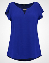 comma Bluser electric blue
