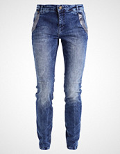 Mos Mosh ETTA GLAM Slim fit jeans light blue denim