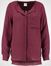 Selected Femme SFDYNELLA Bluser mauve wine