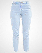 Dorothy Perkins FLORAL GEM EMBELLISHED Slim fit jeans light wash