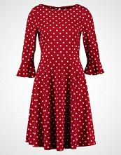 Wallis SPOT FLUTE SLEEVE Jerseykjole red